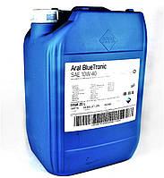 Масло 10W40 Blue Tronic (20L)  (VW501 00/505 00/MB 229.1), код 10487, ARAL