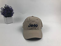 Кепка бейсболка Jeep (бежевая)