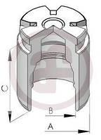 Поршенек суппорта (заднего) Opel Combo 1.7DTI 01-/Renault Scenic III 09- (d=34mm), код D02578, Autofren
