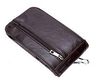 Поясная сумка BullCaptain 001Br темно-коричневый кожа