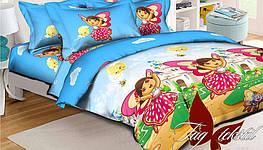 Детский комплект постельного белья Даша-путешественница, Ранфорс