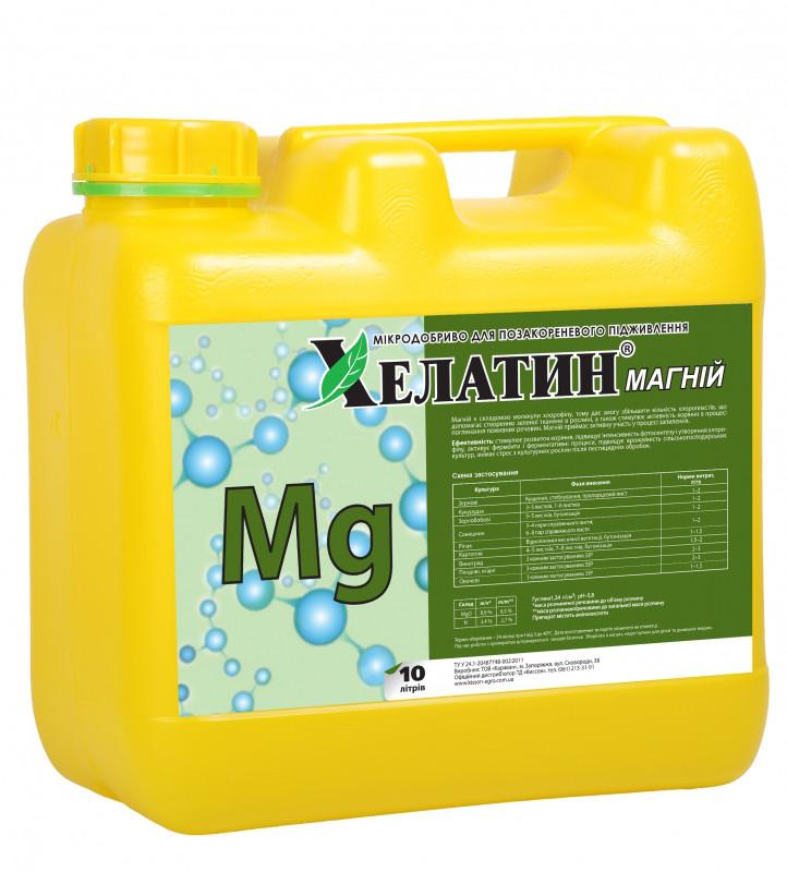 Хелатин Магній (10,3 відсотків) 10 л