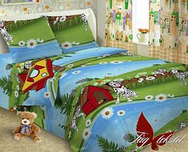 Детский комплект постельного белья с Далматинцем, Поплин