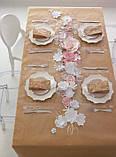 Сет на стіл на крафт папері, порізка листів на формати, фото 2