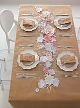 Паперова підкладка на стіл на крафт папері, порізка листів на формати