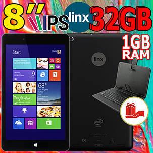 Планшет на WINDOWS!  Linx 8 - IPS, 1GB\32GB Linx 8+ Клавиатура, фото 2