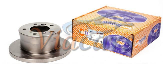 Диск тормозной (задний) MB Sprinter 308-316CDI 96- (272x16), код 4356, AUTOTECHTEILE