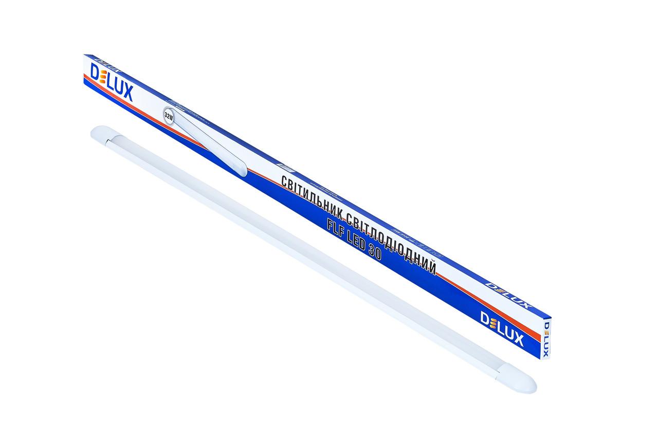 Светодиодный светильник DELUX FLF 30 Овал 32Вт Холодный белый 6500К