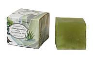 Натуральное мыло Живое мыло с экстрактом алоэ 110 г