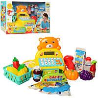 Магазин Супермаркет Касса Мишка Продукты муз.свет., 35561, 008298
