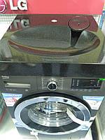 Раковина над стиральной машиной 60х60 см черная (камень)