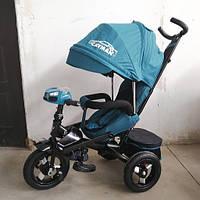 Велосипед трехколесный TILLY CAYMAN T-381/2 Зелёный лён