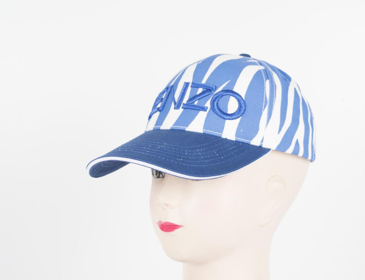 """Бейсболка """"Kenzo"""" синий"""
