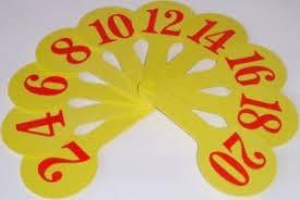 Веер цифр, фото 2
