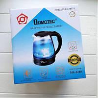 Чайник стеклянный Domotec