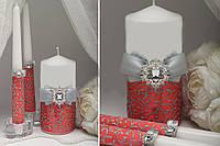 Набор свадебных свечей Je t'aime