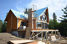 Заказать строительство коттеджа в Херсоне под ключ или под отделку цена. Рассчитать стоимость коттеджа