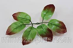 Лист розы, 16 см