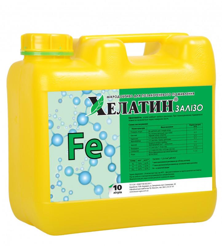 Хелатин Железо (7,8%) 10 л