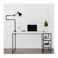 Письменный стол с полочками 134х81