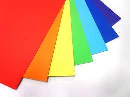 Цветная бумага 17 листов