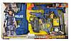 Полицейский набор 33520 жилет, автомат, пистолет,батар, в кор-ке