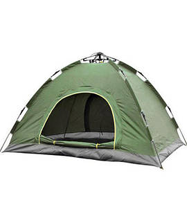 Палатка-автомат, палатка с автоматическим каркасом, четырехместная HY-TG-018