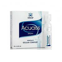 Увлажняющие капли для глаз Acuaiss Drops Monodoses (20 * 0.35 мл.)