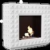 БіокамінEGZUL с кристаллами Swarovski белый глянцевый