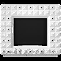 Біокамін EGZUL з кристалами Swarovski білий глянцевий, фото 2