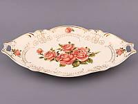 Блюдо Корейская роза Lefard 44х26х5 см 126-532