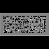 Решетка ABC гранит 17*37, фото 1