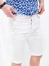 Мужские шорты синие  белые Rich Famous
