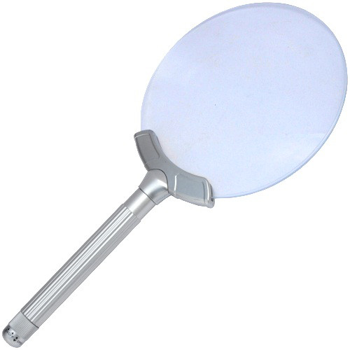 Увеличительное стекло Magnifier 2B-7 с LED подсветкой, 2,5 кратное уве