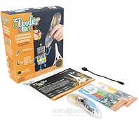 3D-ручка 3Doodler Start для детского творчества Креатив 48 стержней, прозрачная