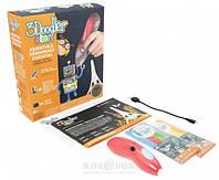 3D-ручка 3Doodler Start для детского творчества Креатив 48 стержней, красная