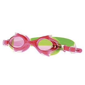 Очки для плавания Spokey WALLY для детей Розово-зеленые (s0148)