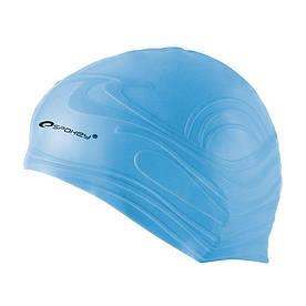Шапочка для плавания Spokey Shoal для взрослых Onesize Голубой (s0132)