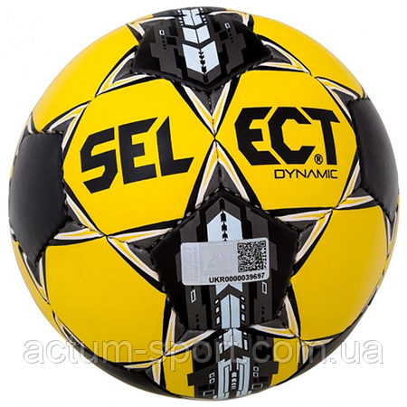 Мяч футбольный Dynamic Select (014) размер 5