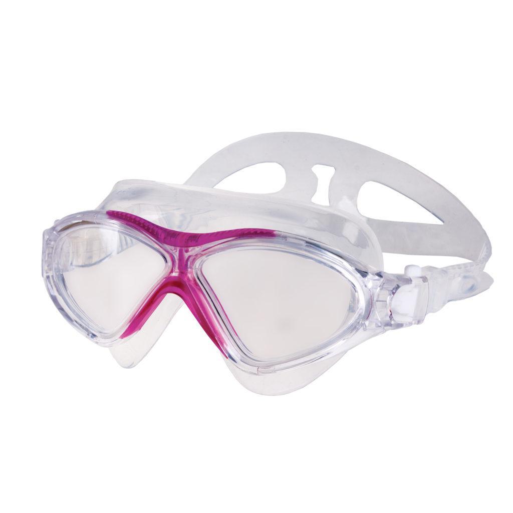 Очки для плавания Spokey Vista Jr для детей Бело-розовые (s0155)