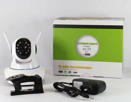 Smart Камера WiFi Camera Интернет IP Умная Поворотная (ВидеоОбзор), фото 2