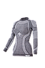 Комплект женского термобелья Haster Merino Wool XS Темно-серый, фото 2