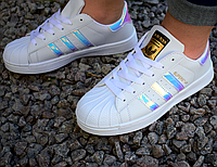 Жіночі Adidas Superstar Holographic White