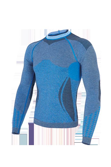 Мужская термокофта Haster Alpaca Wool L/XL Синяя