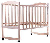 Кровать BabyRoom Зайчонок Z100 береза без лака