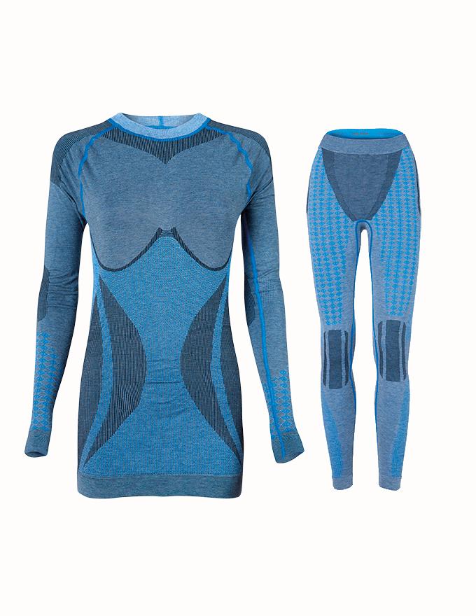 Комплект женского термобелья Haster Alpaca Wool M/L Синий