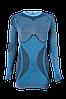 Комплект женского термобелья Haster Alpaca Wool M/L Синий, фото 2