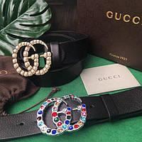 Ремень кожаный Gucci / Гучи