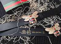 Ремень кожаный Gucci / Гучи, фото 1