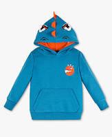 Детская кофта с капюшоном динозавра для мальчика C&A Германия Размер 122